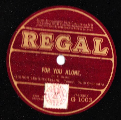 G. Lenghi Cellini - For you alone - Regal G.1003