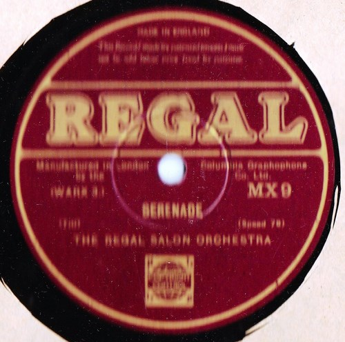 Regal Salon Orchestra - Le Cygne - Regal MX.9
