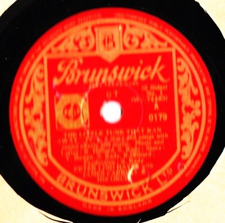 Peter Lind Hayes - The Little Tune That Ran - Brunswick 0179