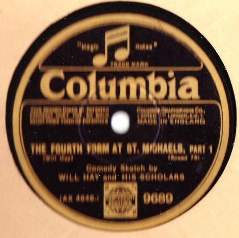 Will Hay & Scholars - Fourth form St. Michaels - Columbia 9689