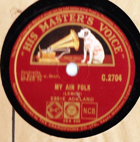 Essie Ackland - The Songs that are old - HMV C.2704
