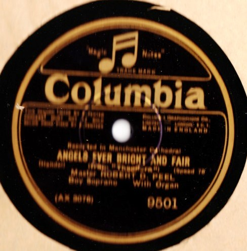 Robert D. Peel - Angels ever bright & fair - Columbia 9501