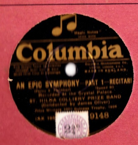 St. Hildas Colliery Band - An Epic Symphony - Columbia 9148