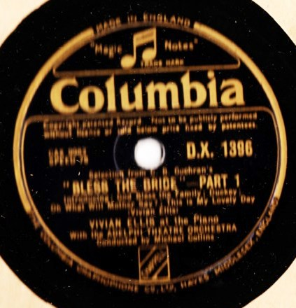 Vivian Ellis - Bless the Bride - Columbia DX.1396