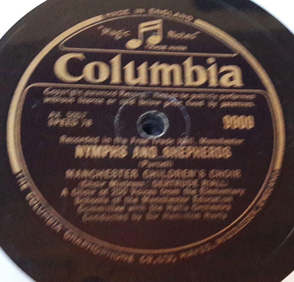 Columbia 9909 - Manchester Childrens Choir - Hansel and Gretel E