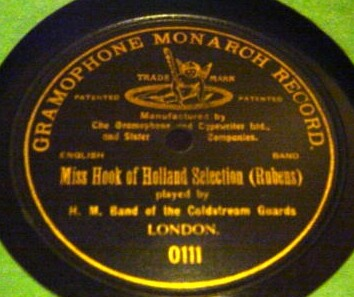 H.M. Band of Coldstream Guards - Gramophone Monarch 0111
