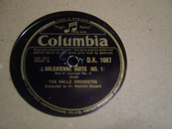 Halle Orchestra - Greensleeves - Sargent - Columbia DX.1087