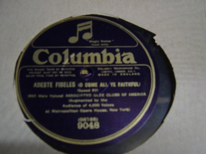 Associated Glee Club of America - John Peel - Columbia 9048
