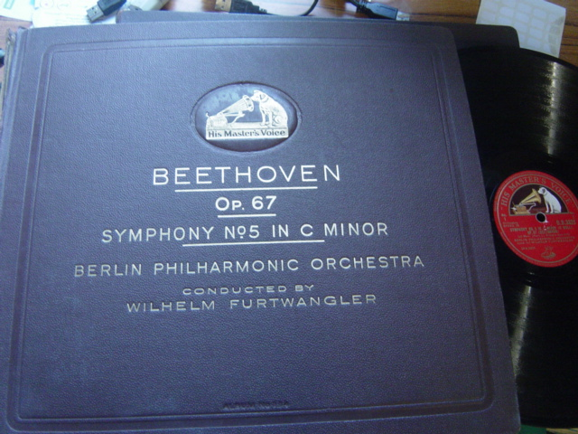 Beethoven - Symphony No.5 in C Minor - Furtwangler - HMV 5 X 78