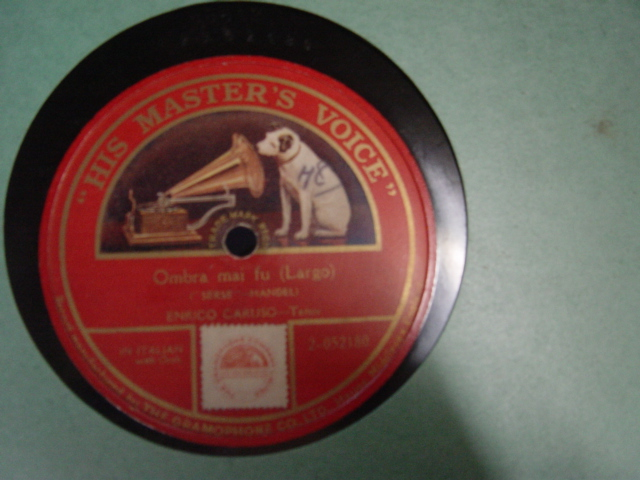 Caruso- Rossini - Ombra mai fu - HMV 2-052068 Single Sided