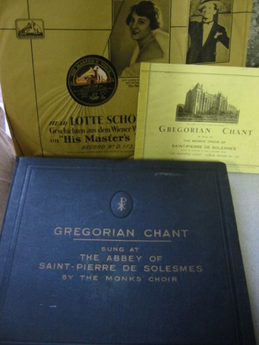 Gregorian Chant - Abbey Saint Pierre De Solesmes - HMV SET