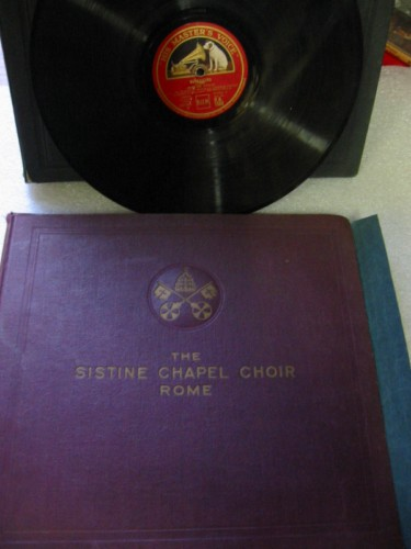 The Sistine Chapel Choir Rome - Antonio Rella - HMV SET