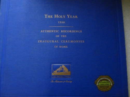 Pope Pius XII - The Holy Year 1950 - HMV 4 Disc Set - Irish