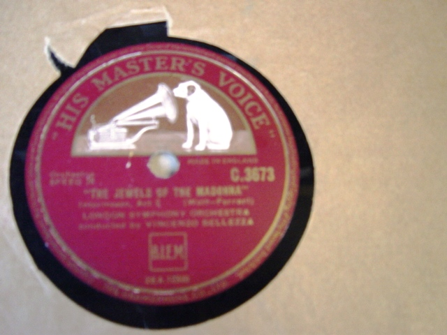 Wolf Ferrari - Jewels of the Madonna - Bellezza - HMV C.3673