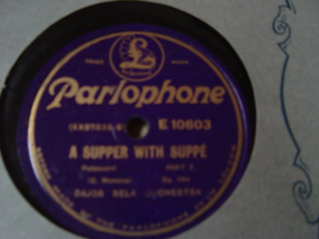 Dajos Bela Orchestra - Supper with Suppe - Parlophone E.10603
