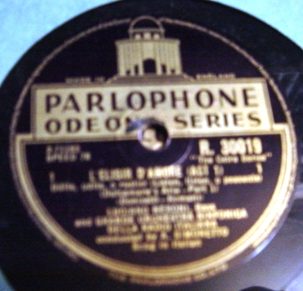 Luciano Neroni - L'elisir d'Amore - Parlophone R.30019