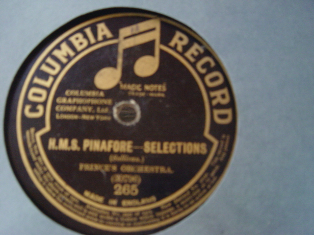 Columbia Light Opera - HMS Pinafore Vocal Gems - Columbia 265