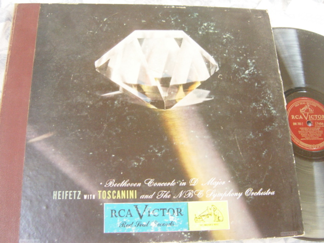 Heifetz - Beethoven Concerto D Major - RCA DM.705 5 X 78