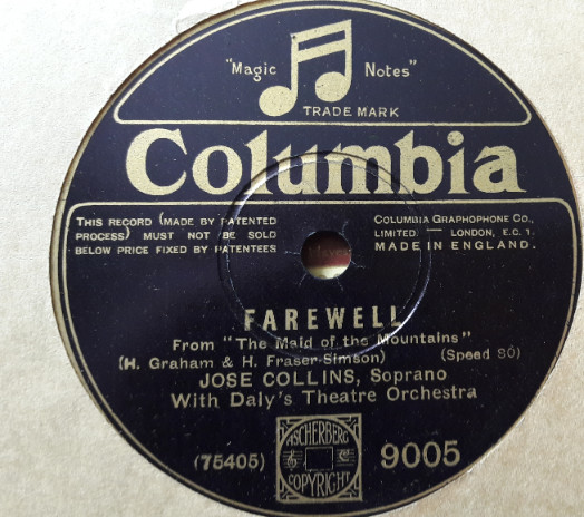 Jose Collins - Love will find a way - Columbia 9005 E+