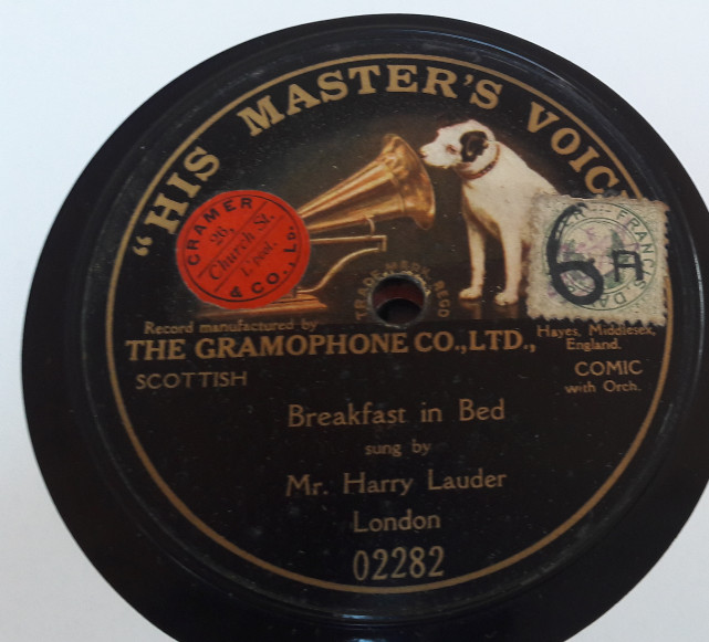 Harry Lauder - Breakfast in bed - HMV 02282 E+