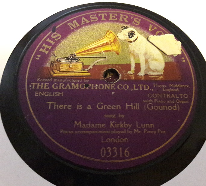 HMV 03316 - Madame Kirkby Lunn - There is a Green Hill