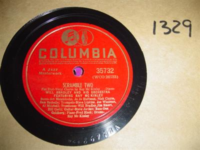 WILL BRADLEY ORCHESTRA - COLUMBIA 35732 { 1329