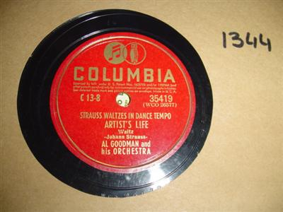 Al Goodman - Artists Life - Columbia 35419 USA VG+