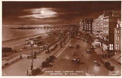 Kings Road Brighton - Real Photo