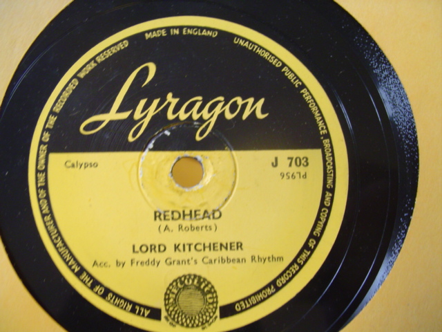 LORD KITCHENER - KITCH TAKE EASY CALYPSO - LYRAGON