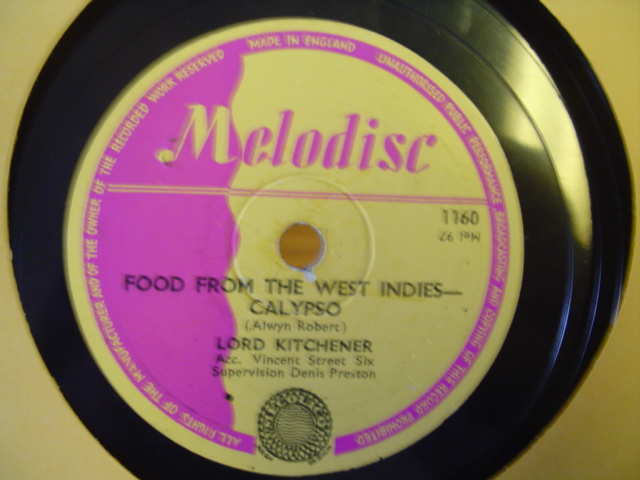 LORD KITCHENER - KITCH CALYPSO - MELODISC 1160