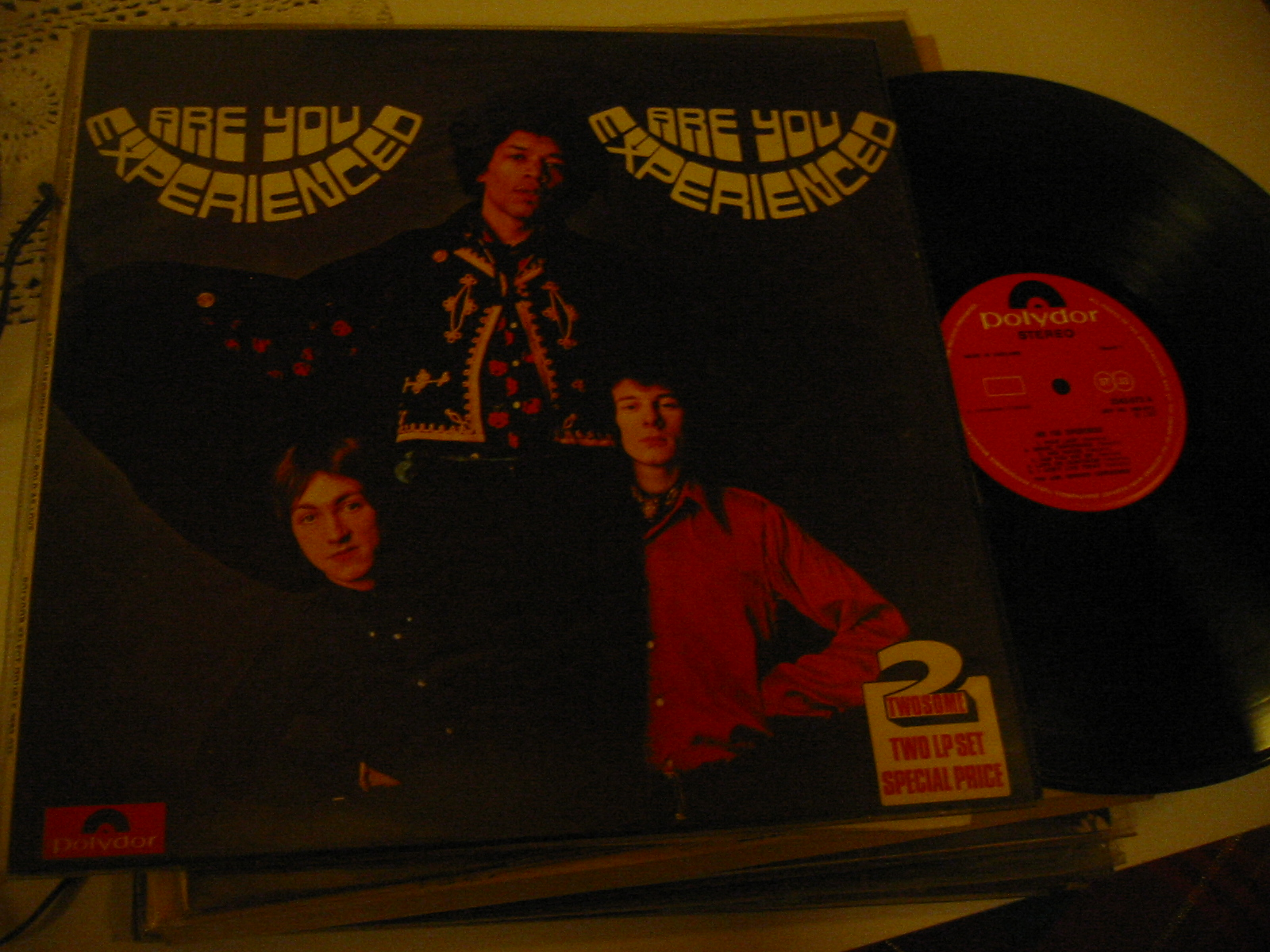 JIMI HENDRIX - ARE YOU EXPERIENCED - POLYDOR 2 LP