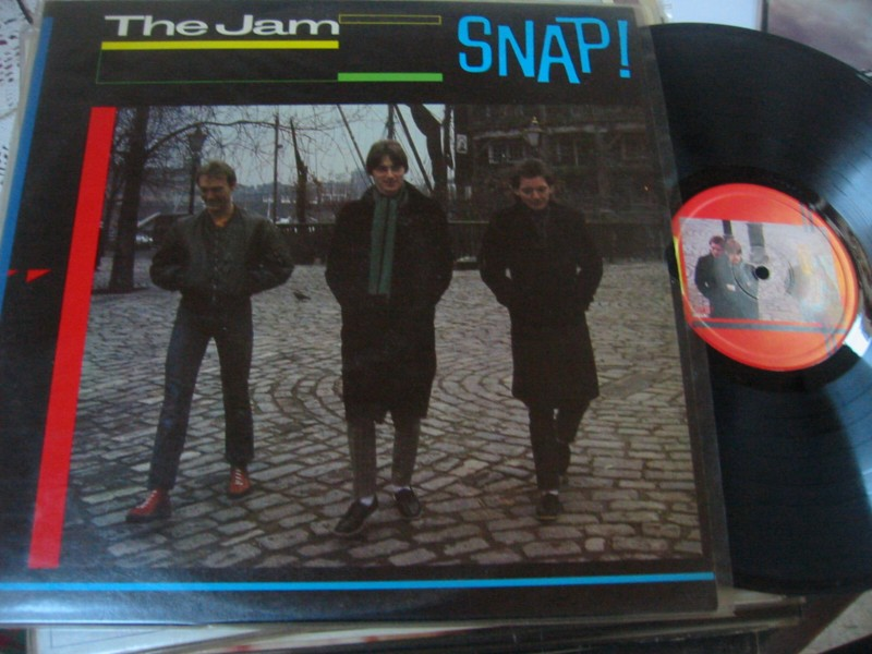 THE JAM - SNAP - POLYDOR 1983 2LP