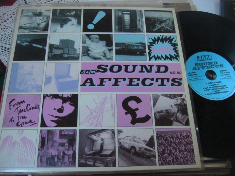 THE JAM - SOUND AFFECTS - POLYDOR 1980