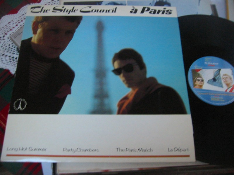 THE STYLE COUNCIL - A PARIS - POLYDOR 1980s