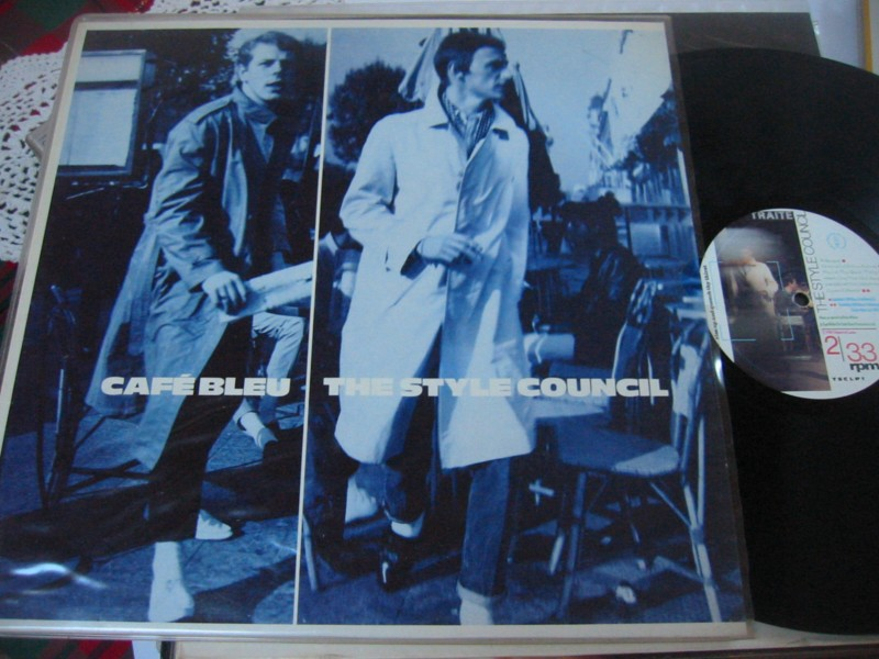 THE STYLE COUNCIL - CAFE BLUE - 1984 POLYDOR
