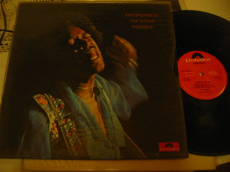 JIMI HENDRIX - IN THE WEST - POLYDOR