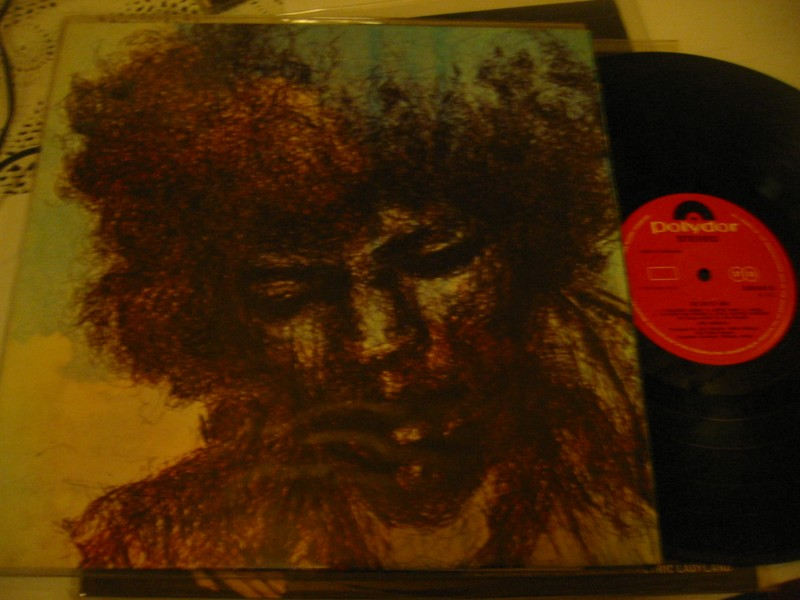 JIMI HENDRIX - THE CRY OF LOVE - POLYDOR