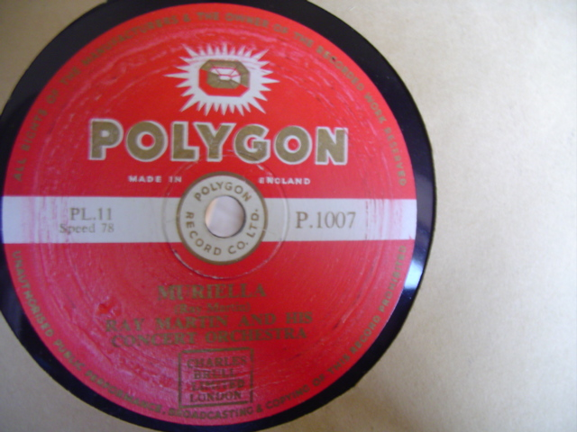 RAY MARTIN - GIPSY FIDDLER - POLYGON 1007