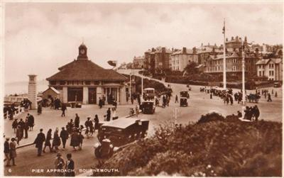 Bournemouth Pier Approach - Real Photo