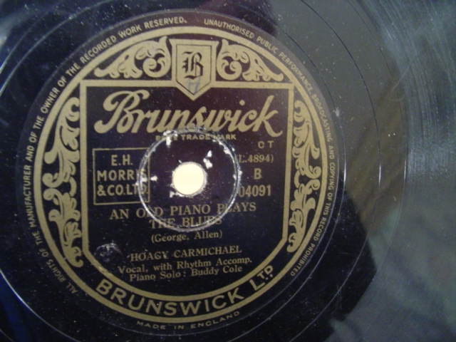 HOAGY CARMICHAEL - LAUGHING BOY - BRUNSWICK