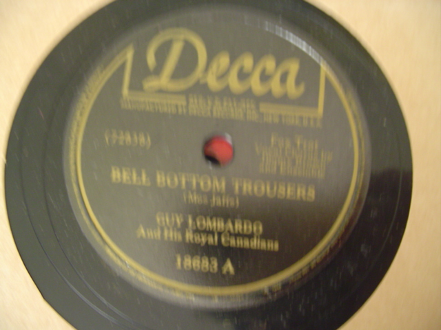GUY LOMBARDO - BELL BOTTON TROUSERS - DECCA