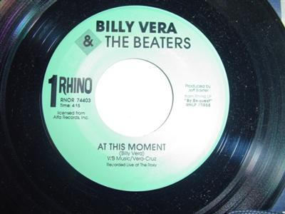 BILLY VERA & THE BEATERS - AT THIS MOMENT - RHINO { 1829