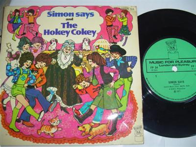 SIMON SAYS - THE HOKEY COKEY - MFP { 1842