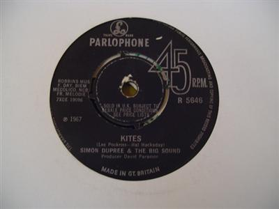SIMON DUPREE & BIG SOUND - PARLOPHONE [ 1882
