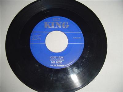 EARL BOSTIC - CHERRY BEAN - KING { 1807