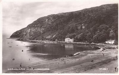 Llanbebrog Head - Real Photo