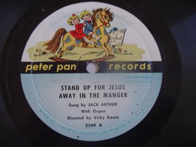 STAND UP FOR JESUS - PETER PAN 2249 - JACK ARTHUR { 1933