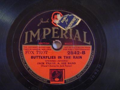 JACK PAYNE - YES Mr BROWN - IMPERIAL 2842 { 1903
