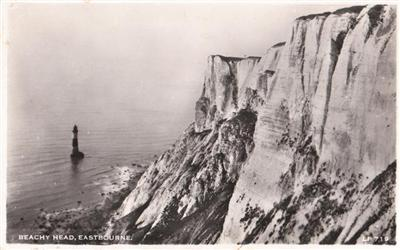 Eastbourne - Beachy Head - Real Photo