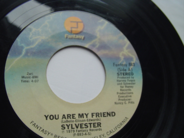 SYLVESTER - YOU ARE MY FRIEND - FANTASY 1979